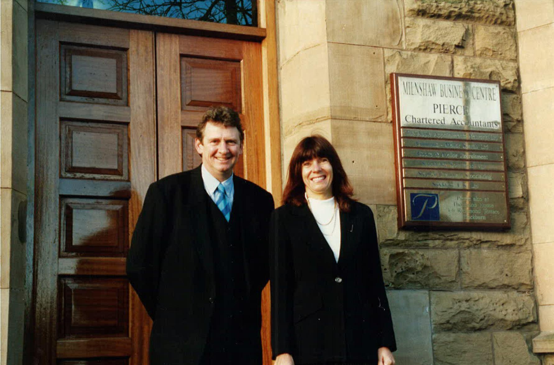 Richard Mellor and June Crossley